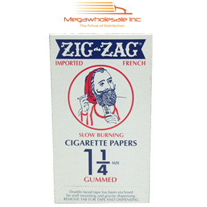 Zig Zag Paper Orange Slow Burning 1.25 (24)