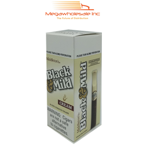Black & Mild Upright Cream (25)