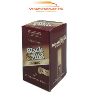 Black & Mild Short Upright Wine (25)..