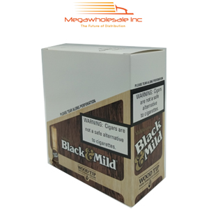 Black & Mild Wood Tip Pack Regular (10/5)