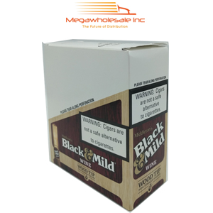 Black & Mild Wood Tip Pack Wine (10/5)