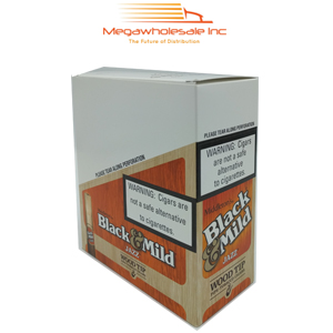 Black & Mild Wood Tip Pack Jazz (10/5)