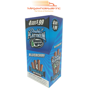 Blunt Wrap Platinum 4X Blueberry