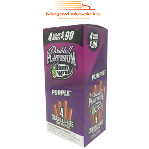 Blunt Wrap Platinum 4X Purple