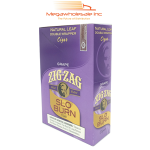 Zig Zag Slo Burn Grape