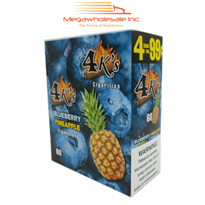 4 Kings 4/99 Blueberry Pineapple